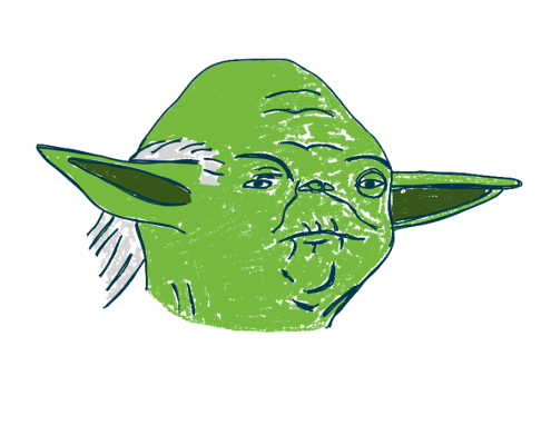 Neurofeedback-Training Bilder für den Bildschirm – Star Wars Yoda